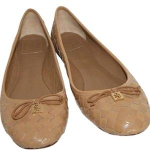 Tory Burch Patent leather weave ballet flats 8